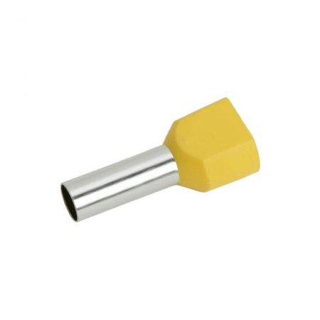 Érvéghüvely 2 x 6,0 mm2-es vezetékekhez
