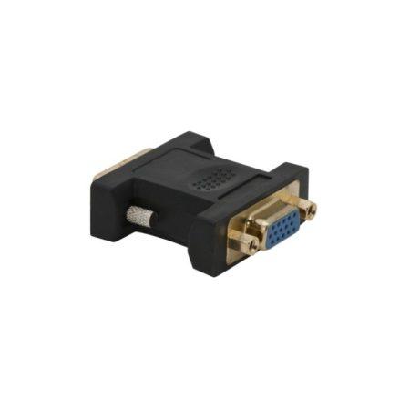 VGA / DVI átalakító VGA aljzat – DVI dugó