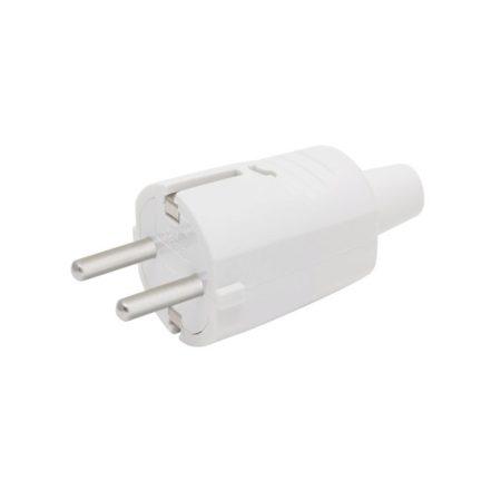 Hálózati lengő dugó 250V 16A fehér