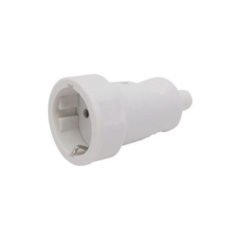 Hálózati lengő dugalj 250V 16A fehér
