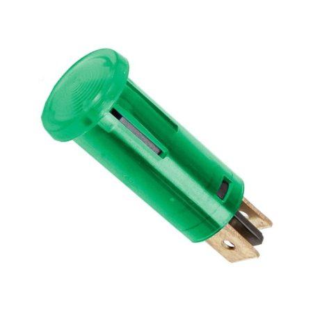 Jelző izzó zöld 220V