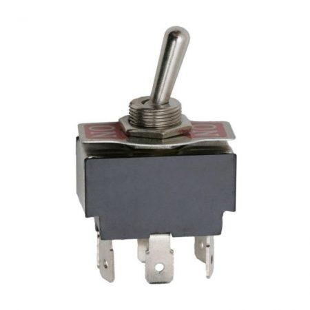 Karos kapcsoló 250V 10A 2 áramkör