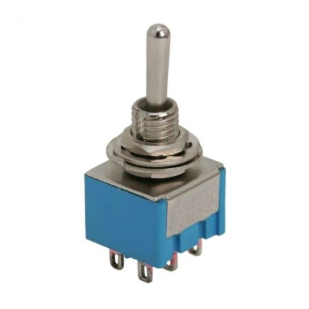 Karos kapcsoló 250V 3A 2 áramkör