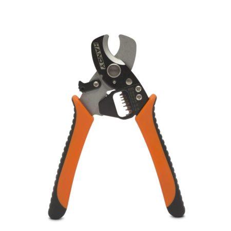 Kábelblankoló és -vágó fogó 0,8-2,6mm