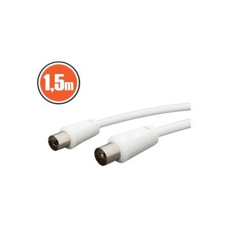 KOAX toldó kábel aljzat – dugó 1,5m