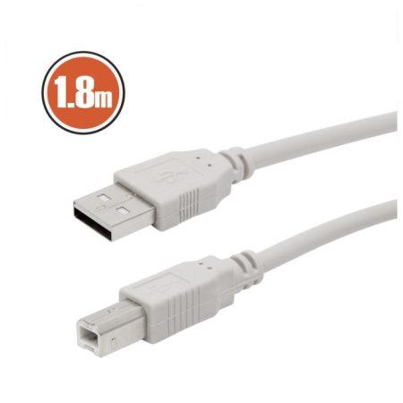 USB kábel 2.0 A dugó – B dugó 1,8 m