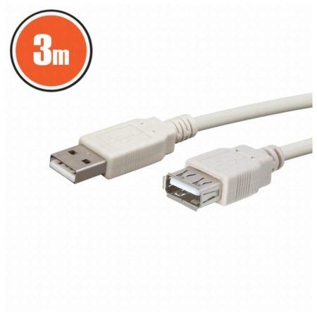 USB hosszabbító A aljzat – A dugó 3,0 m