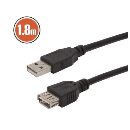 USB hosszabbító A aljzat – A dugó 1,8 m