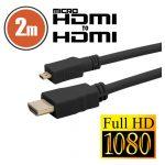 Micro HDMI kábel • 2 m