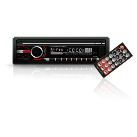 MP3 lejátszó FM tunerrel és SD/MMC/USB olvasóval