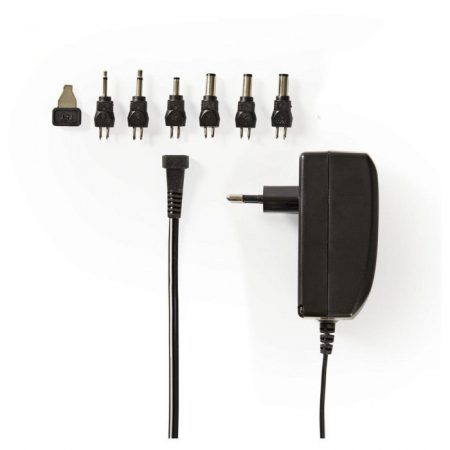 Univerzális hálózati adapter | 9,0/12/13,5/15/18/20/24 VDC | 1,0 A - 1,5 A
