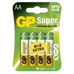 GP SUPER ALKÁLI ELEM LR6 (AA) 8DB/BLISZTER