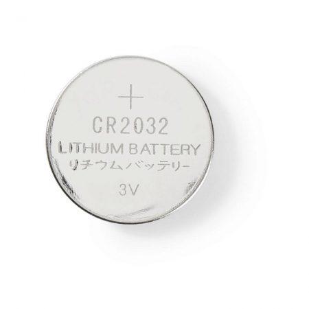 Lítium Gombcella Telep CR2032   3 V   5 darab   Buborékfólia