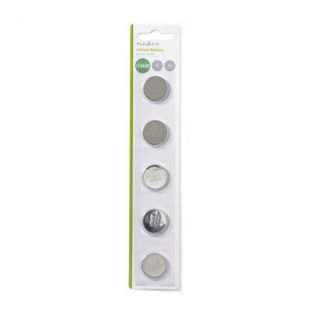Lítium Gombcella Telep CR2430 | 3 V | 5 darab | Buborékfólia