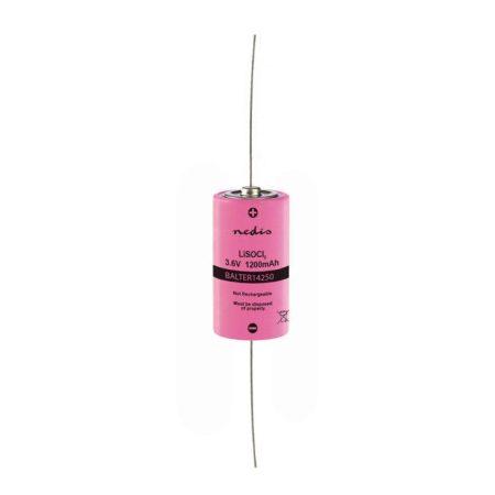 Lítium Tionil-klorid Akkumulátor, ER14250 | 3,6 V | 1200 mAh