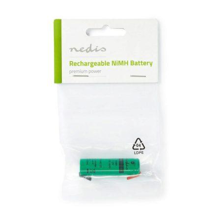 Nikkel-fémhidrid akkumulátor | 1,2 V | 1100 mAh | Forrasztható csatlakozók
