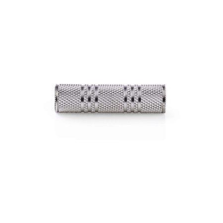 Sztereó audió adapter | 3,5 mm-es Aljzat - 3,5 mm-es Aljzat | Fém