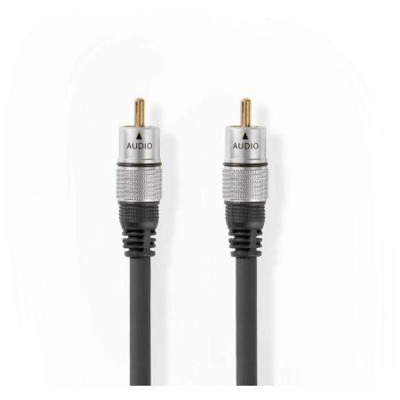 Digitális Audiokábel | RCA Apa–RCA Apa | 1,50 m | Antracit