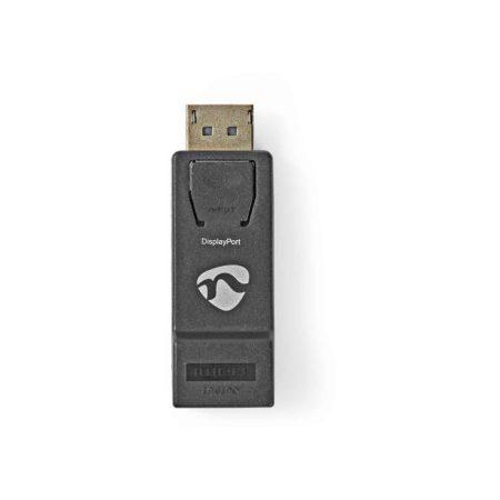 DisplayPort–HDMI Adapter | DisplayPort Dugasz–HDMI Aljzat | Fekete