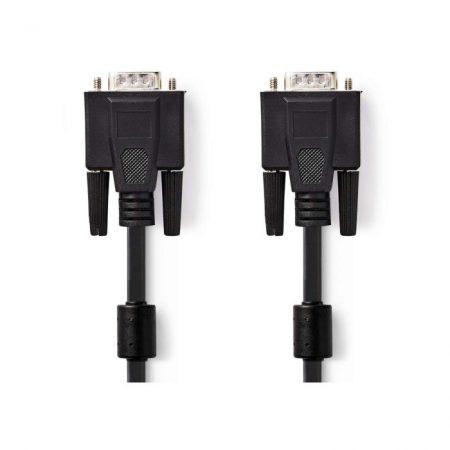 VGA kábel | VGA-dugasz - VGA-dugasz | 10 m | Fekete