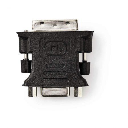 DVI - VGA adapter | DVI-I 24+5 Pólusú Dugasz - VGA-aljzat