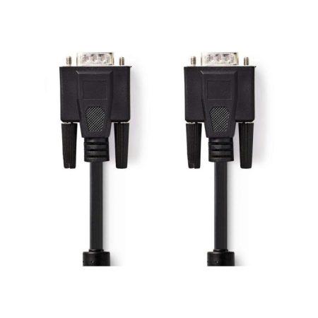 VGA kábel | VGA-dugasz - VGA-dugasz | 15 m | Fekete