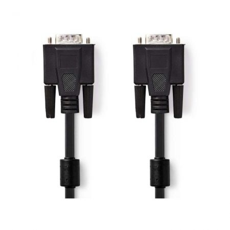VGA kábel | VGA-dugasz - VGA-dugasz | 2,0 m | Fekete