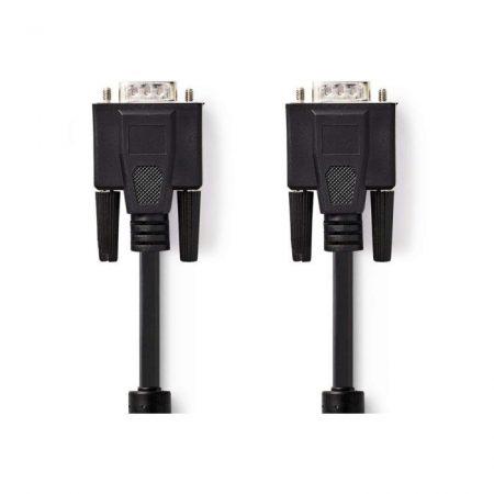 VGA kábel | VGA-dugasz - VGA-dugasz | 20 m | Fekete
