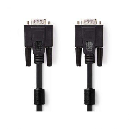 VGA kábel | VGA-dugasz - VGA-dugasz | 5,0 m | Fekete