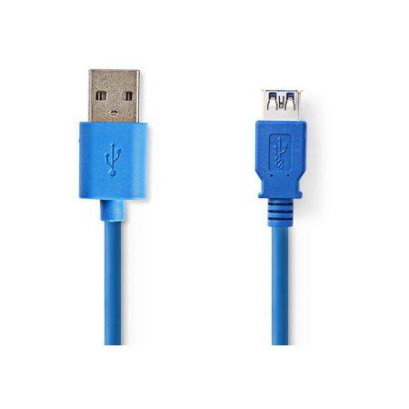 USB 3.0 kábel | A Dugasz - A Aljzat | 2,0 m | Kék