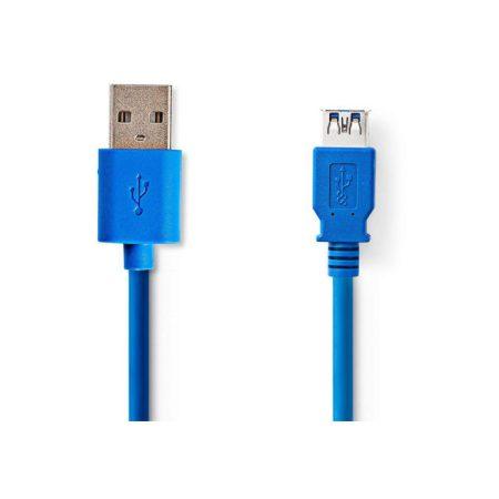 USB 3.0 kábel | A Dugasz - A Aljzat | 3,0 m | Kék