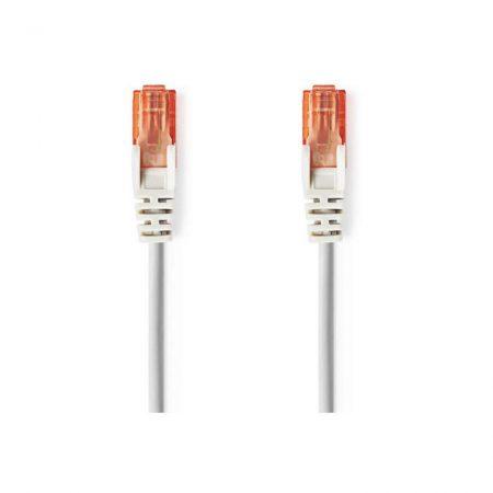 Cat 6 UTP Hálózati Kábel | RJ45 (8P8C) Dugasz - RJ45 (8P8C) Dugasz | 1,0 m | Szürke