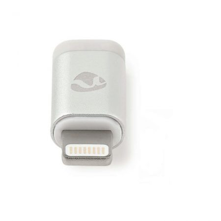 Szinkronizáló- és Töltőadapter | 8 Érintkezős Lightning Dugasz – USB 2.0 Micro-B Aljzat