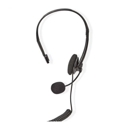 PC headset | Fülre Illeszthető | RJ9-csatlakozó | 2,2 m | Fekete