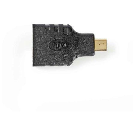 HDMI™ adapter | HDMI Mini-csatlakozó - HDMI-aljzat | Fekete