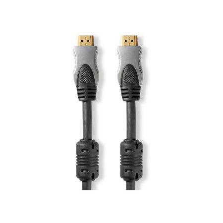 Nagy sebességű HDMI™-kábel Ethernettel | HDMI™-csatlakozó–HDMI™-csatlakozó | 10,0 m | Antracit