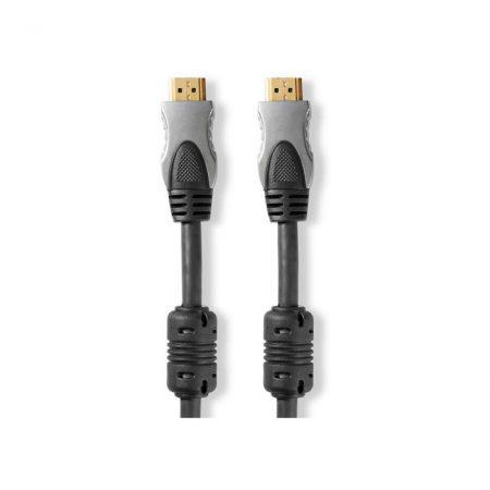Nagy sebességű HDMI™-kábel Ethernettel | HDMI™-csatlakozó–HDMI™-csatlakozó | 1,50 m | Antracit