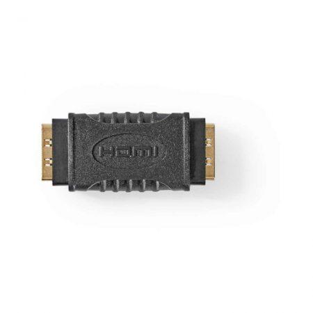 HDMI-adapter | HDMI-aljzat - HDMI-aljzat | Fekete