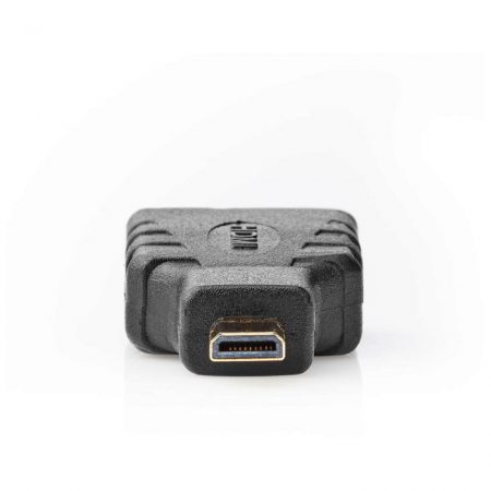 HDMI-adapter | HDMI Mikro-csatlakozó - HDMI-aljzat | Fekete