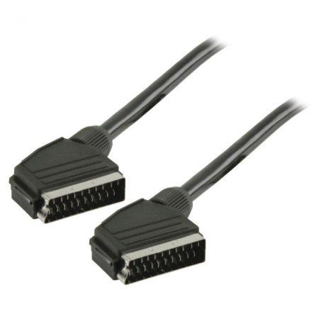 SCART kábel   SCART Dugasz - SCART Dugasz   2,0 m   Fekete