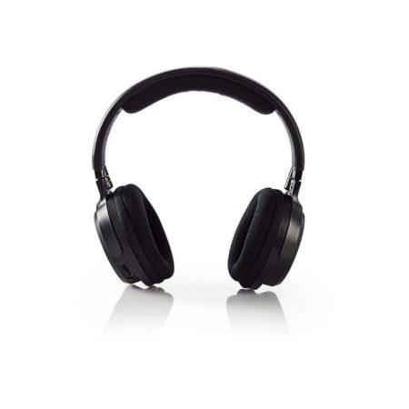 Vezeték Nélküli Fejhallgatók | Rádiófrekvencia (RF) | Teljes fület befedő kialakítás | Fekete