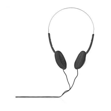 Fülre illeszkedő fejhallgató | 1,2 m-es Vezeték | Fekete