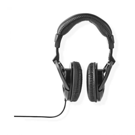 Fül Köré Illeszkedő Fejhallgató | 2,50 m-es Vezeték | Fekete