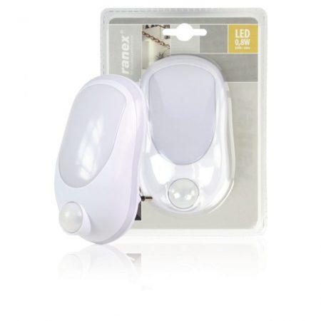 LED Éjszakai Fény 0.4 W Mozgásérzékelővel