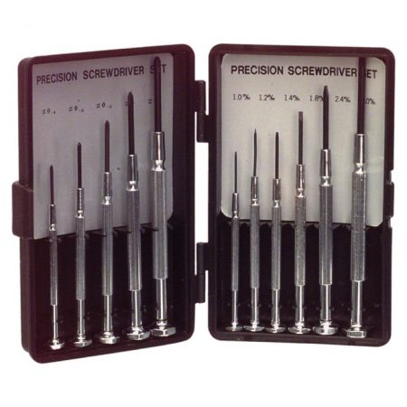 Precision Screwdriver Set Phillips / Slotted