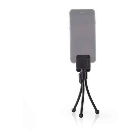 Miniállvány Okostelefonhoz   15,8 cm   Fekete