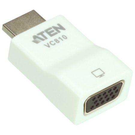 HDMI-VGA Átalakító, HDMI Bemenet - VGA Aljzat