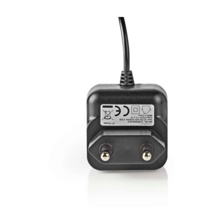 Fali Töltő   2,1 A   Rögzített kábel   Micro USB   Fekete