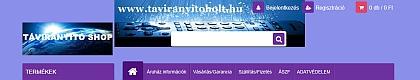 Távirányító webáruház